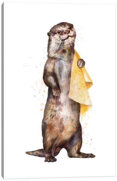 Otter Canvas Art Print