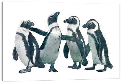 Penguin Party Canvas Art Print