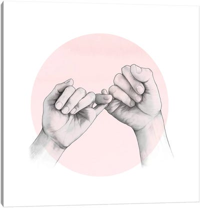 Pinky Canvas Art Print