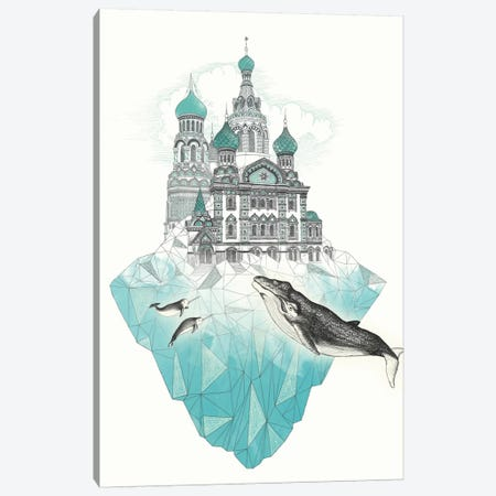 St. Petersiceburg Canvas Print #GRV34} by Laura Graves Canvas Art Print
