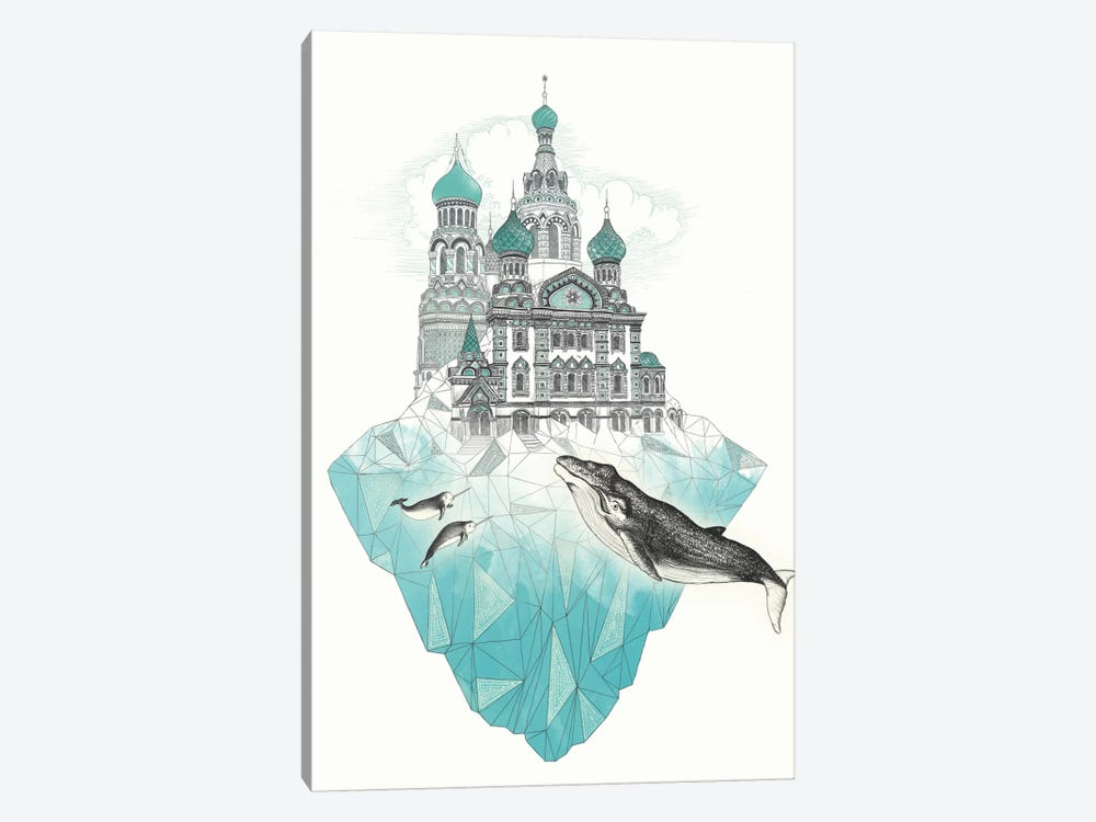 St. Petersiceburg by Laura Graves 1-piece Art Print