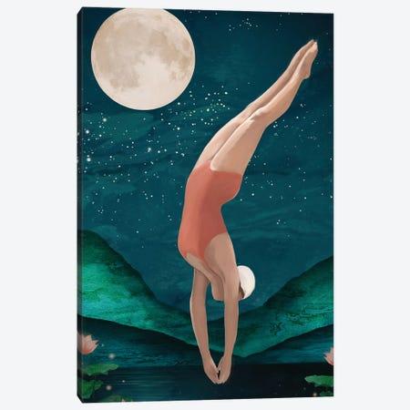 Dive Canvas Print #GRV43} by Laura Graves Canvas Art Print