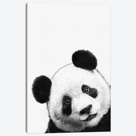 Panda Canvas Print #GRV45} by Laura Graves Canvas Art