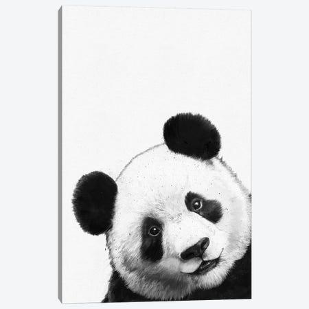 Panda Canvas Print #GRV45} by Laura Graves Canvas Art