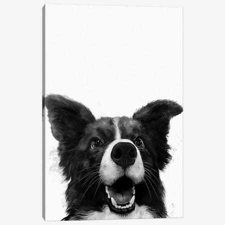 Who's A Good Boy Canvas Print #GRV47} by Laura Graves Canvas Artwork