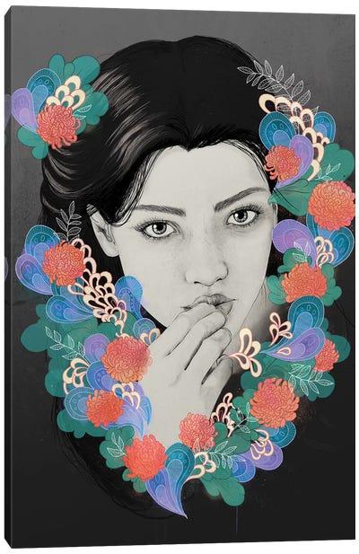 New Girl Canvas Art Print