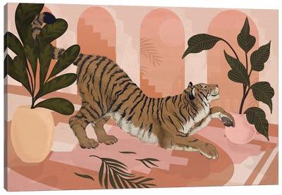 Easy Tiger Canvas Art Print