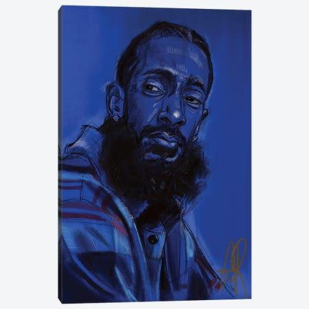 Hussle Canvas Print #GRW10} by Gordon Rowe Art Print