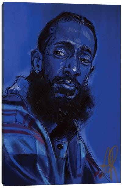 Hussle Canvas Art Print