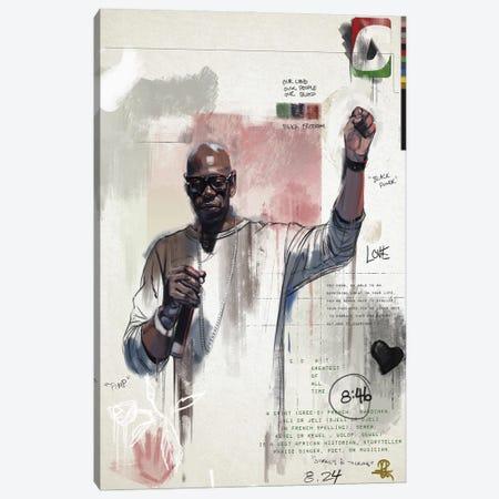 G.G.O.A.T Canvas Print #GRW16} by Gordon Rowe Canvas Artwork