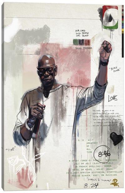 G.G.O.A.T Canvas Art Print