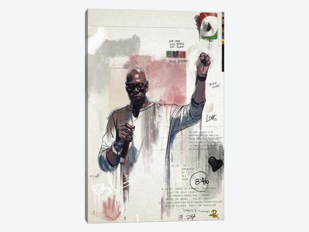 G.G.O.A.T by Gordon Rowe 1-piece Canvas Wall Art