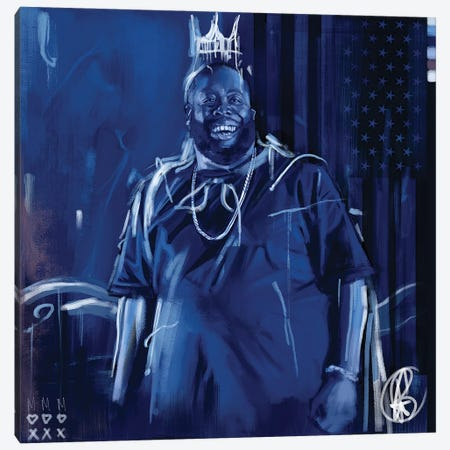 Killer Mike Canvas Print #GRW19} by Gordon Rowe Canvas Art Print
