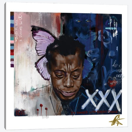 Baldwin I Canvas Print #GRW1} by Gordon Rowe Canvas Artwork