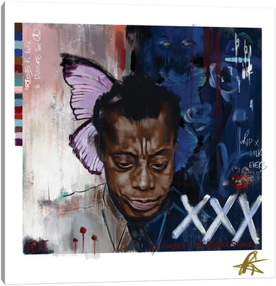 Baldwin I Canvas Art Print