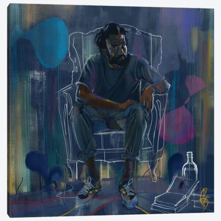 Gambino IV Canvas Print #GRW20} by Gordon Rowe Canvas Art
