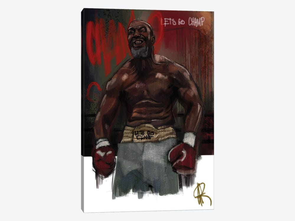 Let's Go Champ by Gordon Rowe 1-piece Canvas Art