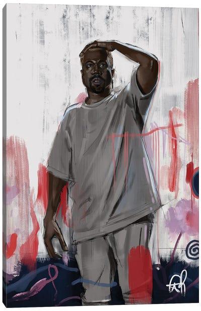 Mr West Canvas Art Print