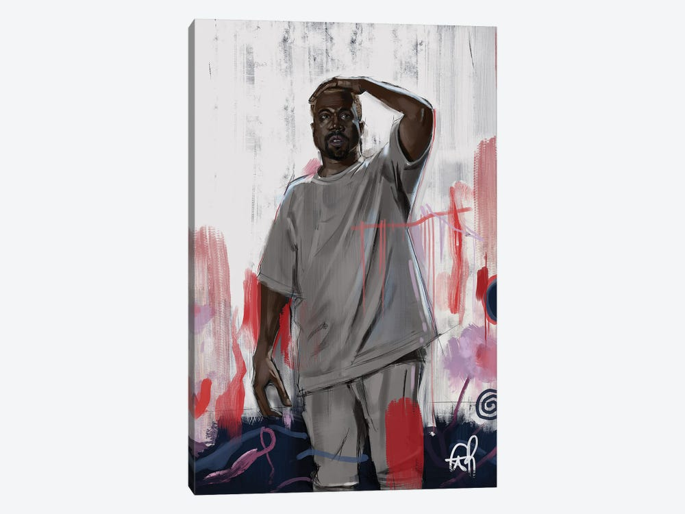 Mr West by Gordon Rowe 1-piece Canvas Art Print