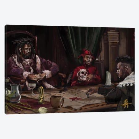 Rembrandt Canvas Print #GRW28} by Gordon Rowe Canvas Art