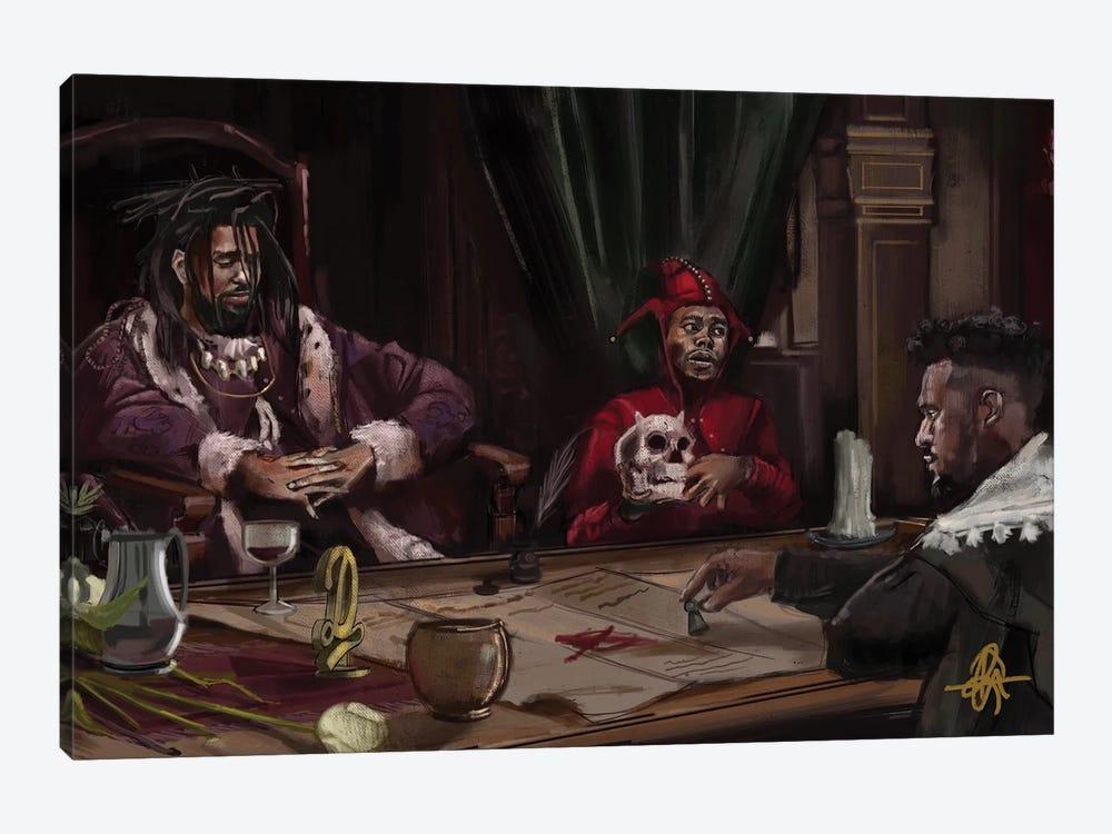 Rembrandt by Gordon Rowe 1-piece Canvas Art Print