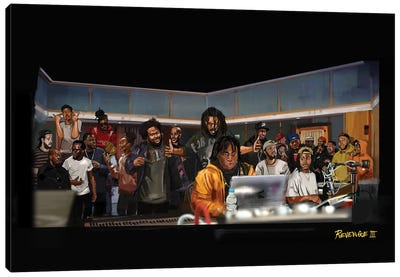 Rap Camp Canvas Art Print