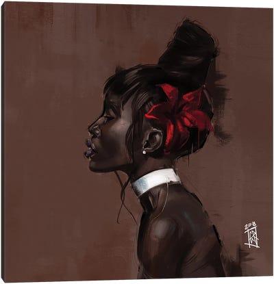 Black Love I Canvas Art Print