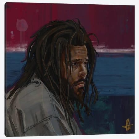 Blue Today Canvas Print #GRW9} by Gordon Rowe Canvas Artwork