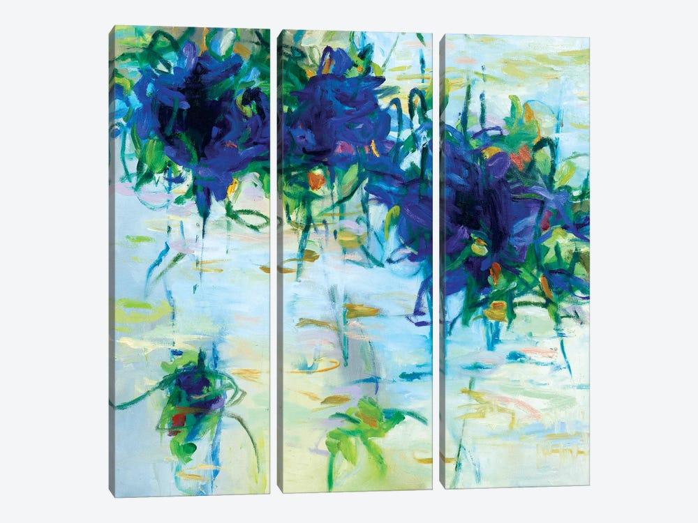 Ponds XIX by Gaby Silva Bavio 3-piece Canvas Artwork