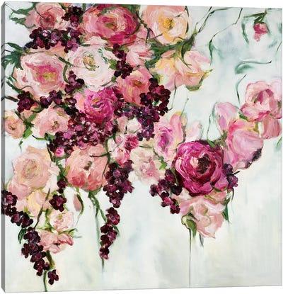 Rose Cascada Canvas Art Print