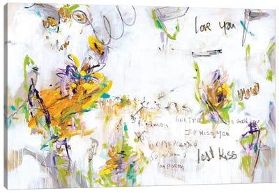 The Last Kiss II Canvas Art Print