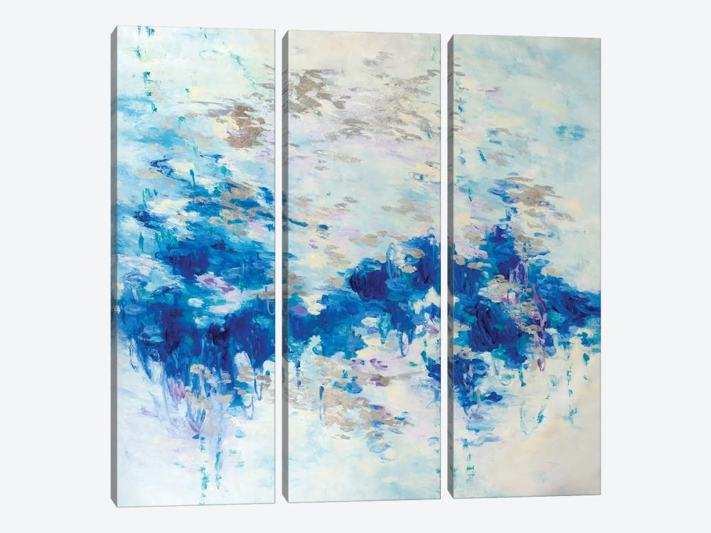 Untitled II by Gaby Silva Bavio 3-piece Canvas Wall Art