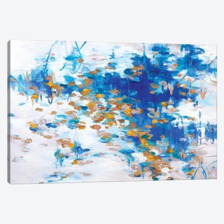Copper Ponds Canvas Print #GSB2} by Gaby Silva Bavio Canvas Art Print
