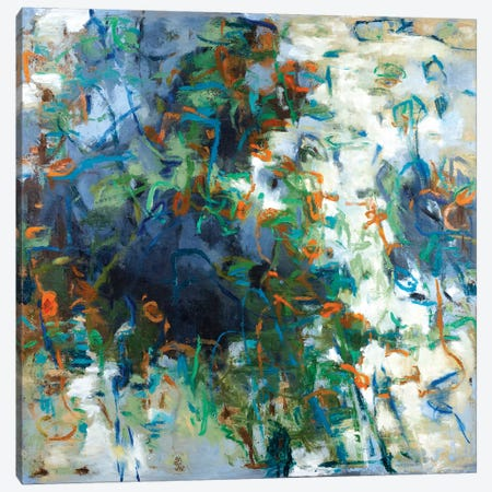 Ponds I Canvas Print #GSB6} by Gaby Silva Bavio Canvas Artwork