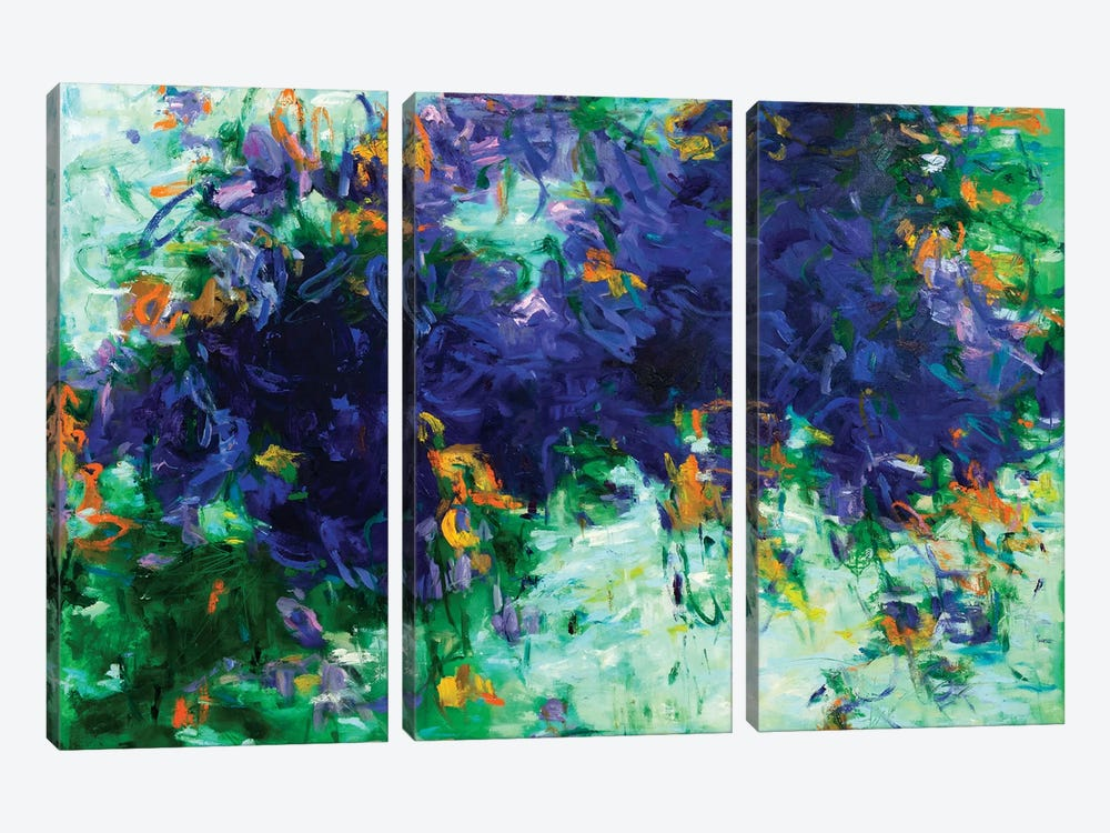 Ponds II by Gaby Silva Bavio 3-piece Canvas Print