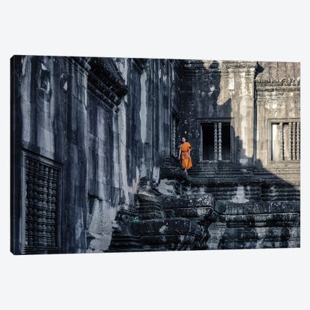 The Young Monk Canvas Print #GSG2} by Gloria Salgado Gispert Canvas Wall Art