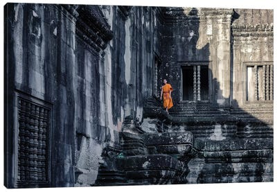 The Young Monk Canvas Art Print