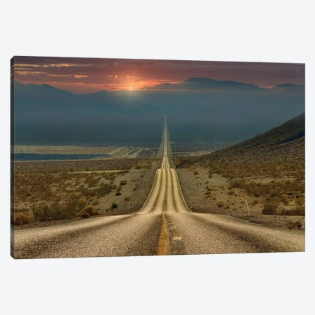My way... Canvas Print #GSH1} by Gennady Shatov Canvas Print