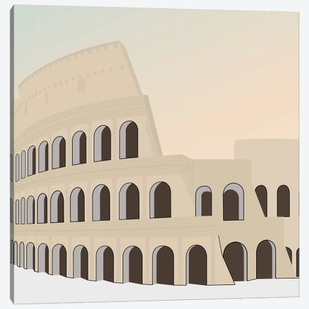 Travel Europe--Rome Canvas Print #GSO10} by Gurli Soerensen Canvas Wall Art