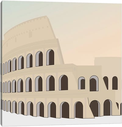 Travel Europe--Rome Canvas Art Print