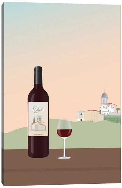 Tuscan Wine I Canvas Art Print