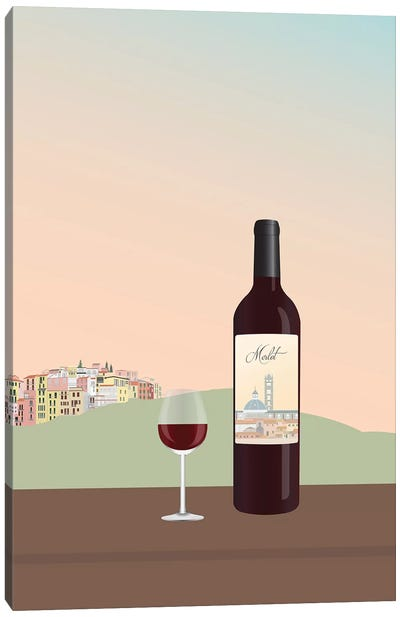 Tuscan Wine II Canvas Art Print