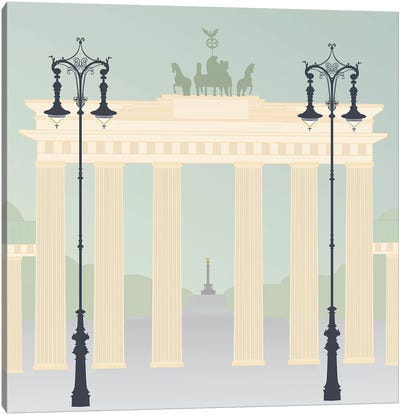 Travel Europe--Brandenburger Canvas Art Print