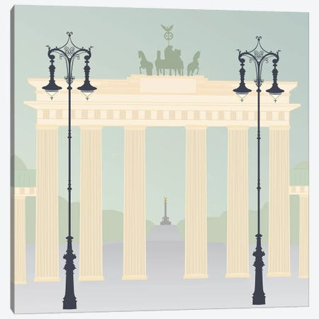 Travel Europe--Brandenburger Canvas Print #GSO1} by Gurli Soerensen Canvas Artwork