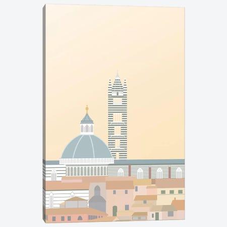 Travel Europe--Duomo di Siena Canvas Print #GSO2} by Gurli Soerensen Canvas Art