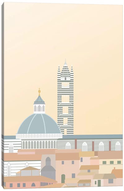 Travel Europe--Duomo di Siena Canvas Art Print