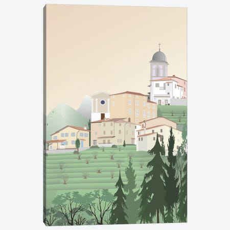 Travel Europe--Pedona II Canvas Print #GSO6} by Gurli Soerensen Canvas Print