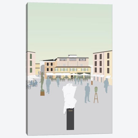 Travel Europe--Pietrasanta Canvas Print #GSO7} by Gurli Soerensen Canvas Print