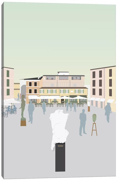 Travel Europe--Pietrasanta Canvas Art Print