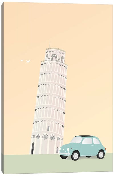 Travel Europe--Pisa Canvas Art Print